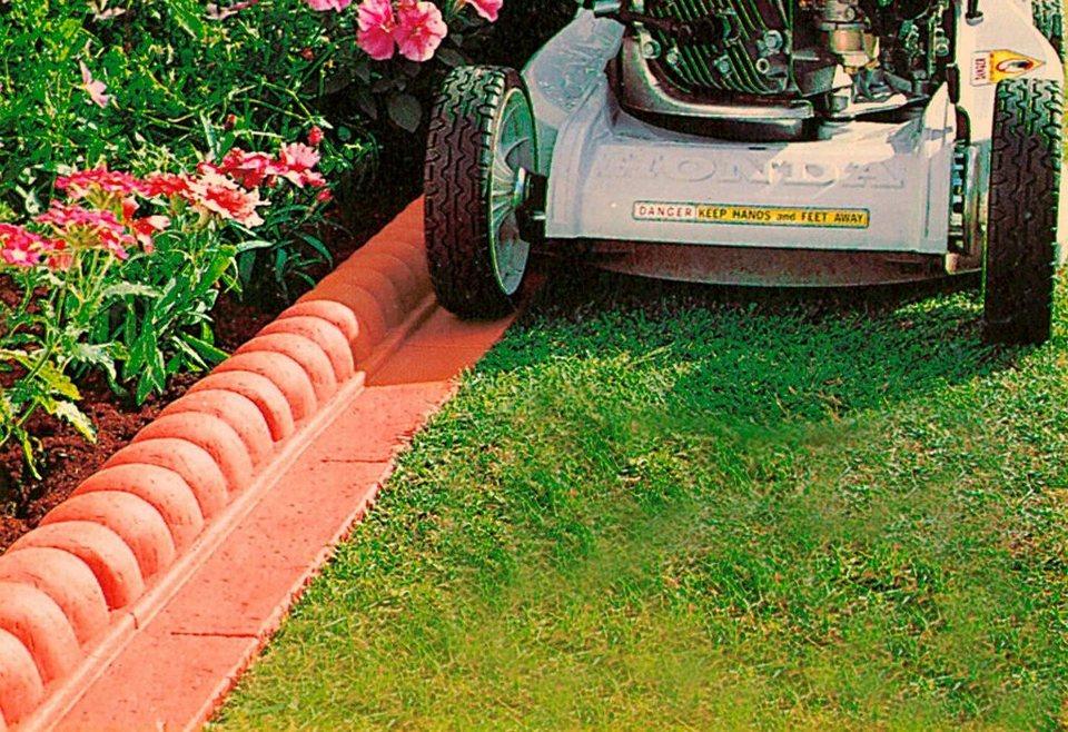 Kunststoff Rasenkante Außenecke Terracotta Otto