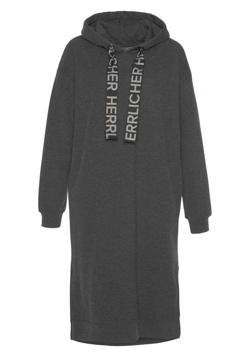 Herrlicher Sweatshirt »BLYTHE DRESS« mit Logo-Statement-Kordel-Strings