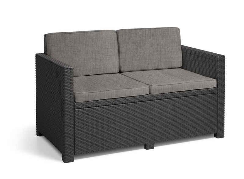 Allibert Loungesofa »Allibert Monaco Victoria 2-Sitzer Sofa«