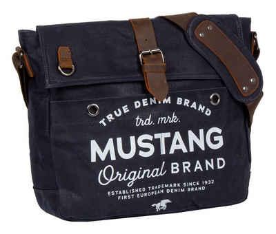 MUSTANG Messenger Bag »Genua«, mit schickem Logoaufdruck