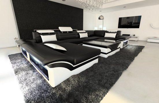 Sofa Dreams Sofa »Enzo«, U Form