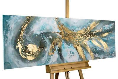 KUNSTLOFT Gemälde »Enigma«, handgemaltes Bild auf Leinwand