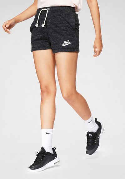 Nike Sportswear Shorts »Nike Sportswear Gym Vintage Women's Shorts« Melierte Optik