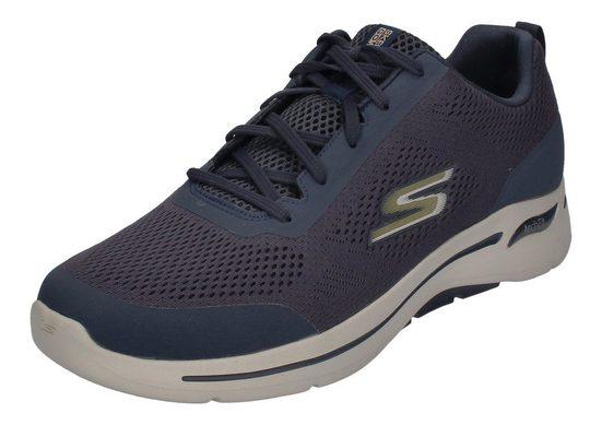 Skechers »GO WALK ARCH FIT« Sneaker Navy Gold