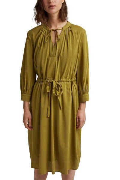 Esprit Collection Blusenkleid mit Bindeband