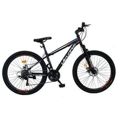 Velors Mountainbike »Fahrrad Herren Jungen 26 Zoll Mountainbike MTB, Shimano Tourney TZ500D, Stahl Rahmen, mechanischen Scheibenbremse«, 21 Gang Shimano, Kettenschaltung