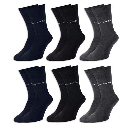 Pierre Cardin Freizeitsocken (18-Paar) wahlweise 6er, 9er oder 18er Paar, super elastisch, optimale Passform, angenehmer Tragekomfort