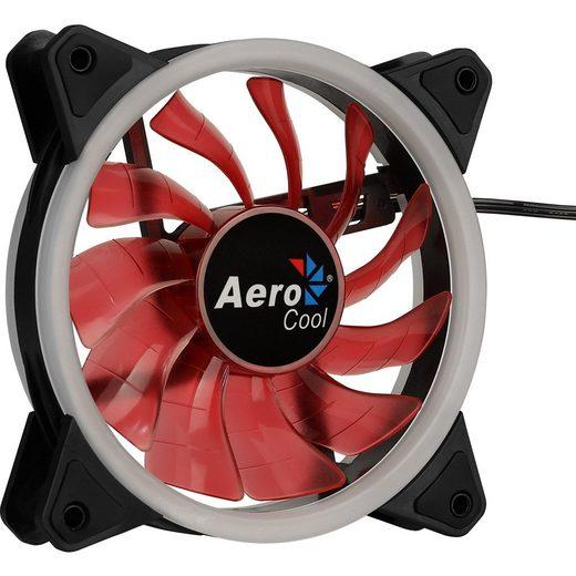 Aerocool Gehäuselüfter »Rev Red 120x120x25«