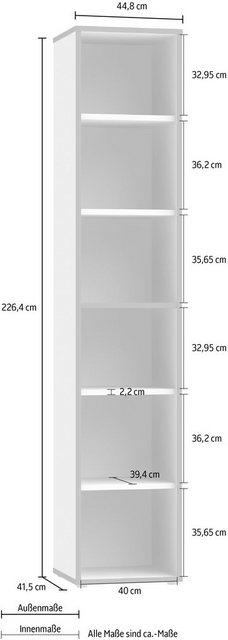 Schränke und Regale - FORTE Aktenregal »Keflav«, Breite 44,8 cm  - Onlineshop OTTO