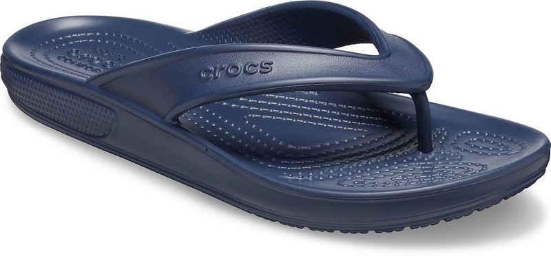 Crocs »Classic 2 Flip« Zehentrenner für Strand- und Badeausflüge