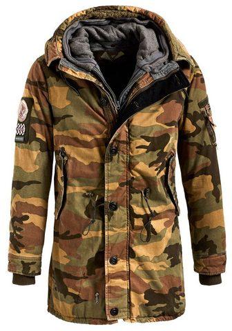 khujo Military-Jacket »JOHN WITH INNER JACKE...