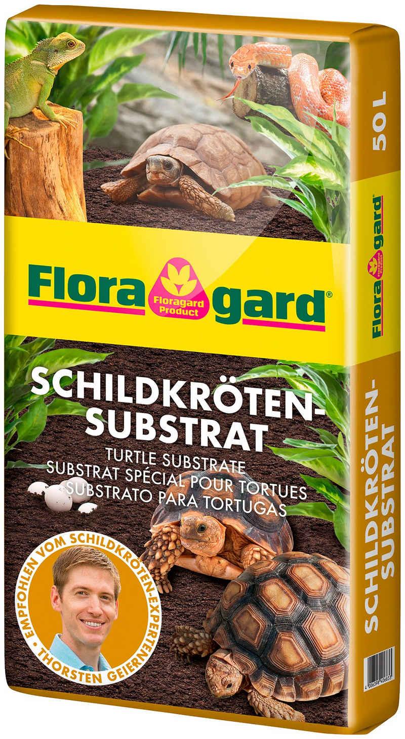 Floragard Terrarien-Substrat, 50 l, für Schildkröten und Terrarien