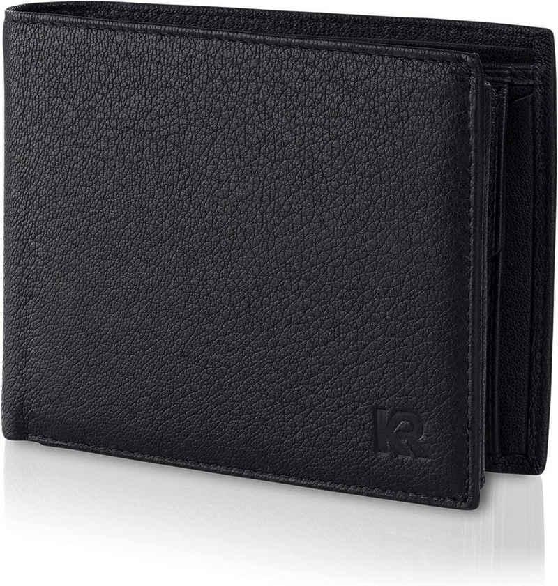 KRONIFY Geldbörse »Geldbeutel Herren«, mit geprüftemRFID Schutz