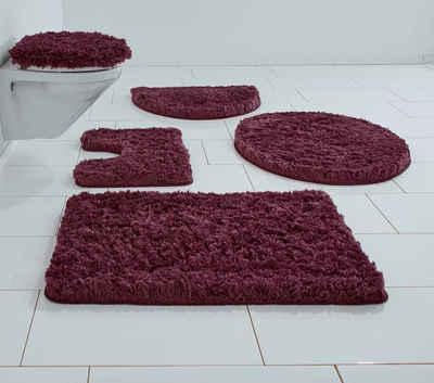 elegantstunning Dauphin Teppich Set Unterwasserwelt Toilettendeckel Pad Bodenmatte 3er Set 4er Set Badezimmermatten 1 ST/ÜCK Delphin