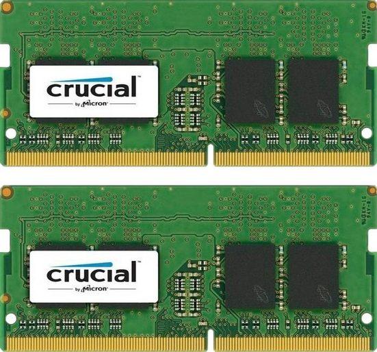 Crucial »16GB Kit (2 x 8GB) DDR4-2400 SODIMM« Arbeitsspeicher