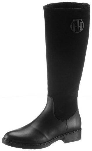 TOMMY HILFIGER »MODERN TOMMY LONG BOOT« Stiefel mit Innenreißverschluss
