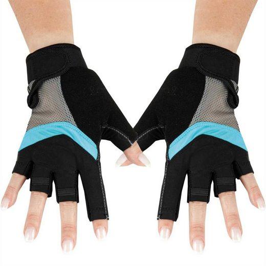 """Bestlivings Fahrradhandschuhe Fitness Handschuh """"unisex"""" Sporthandschuhe - atmungsaktiv - Extra leicht - Gr. 8"""