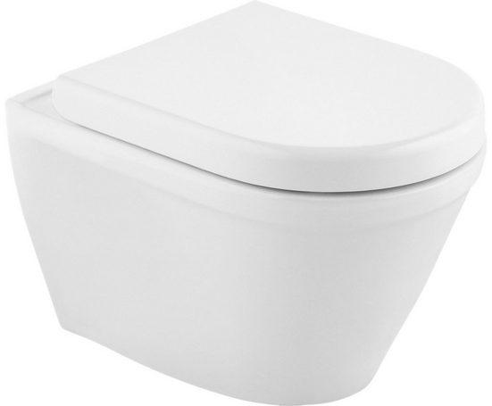CORNAT Tiefspül-WC »Trient«, inkl. WC-Sitz mit Absenkautomatik