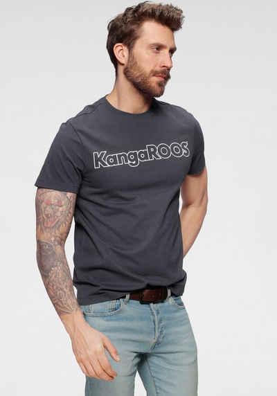 KangaROOS Rundhalsshirt mit Logoprint