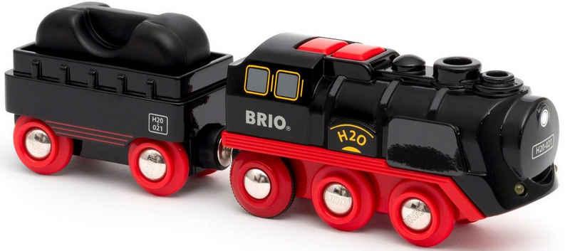 BRIO® Spielzeug-Zug »Batterie-Dampflok mit Wassertank«, mit Licht- und Dampffunktion; FSC® - schützt Wald - weltweit
