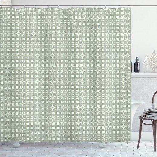 Abakuhaus Duschvorhang »Moderner Digitaldruck mit 12 Haken auf Stoff Wasser Resistent« Breite 175 cm, Höhe 180 cm, Abstrakt Natürliches Inspired Element