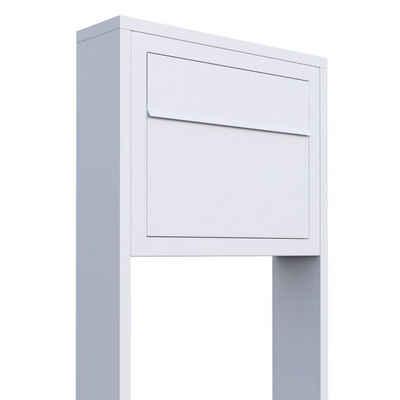 Bravios Briefkasten »Standbriefkasten Elegance Weiß«