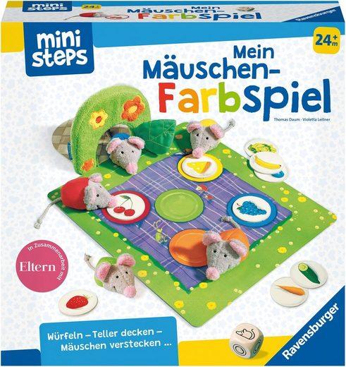 Ravensburger Spiel, »ministeps®, Mein Mäuschen-Farbspiel«, Made in Europe, FSC® - schützt Wald - weltweit