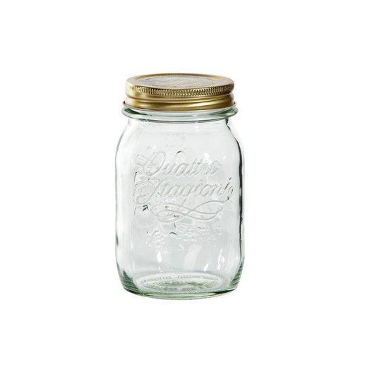 BUTLERS Vorratsglas »BUTLERS QUATTRO STAGIONI Aufbewahrungsglas 0,5 l«, Glas