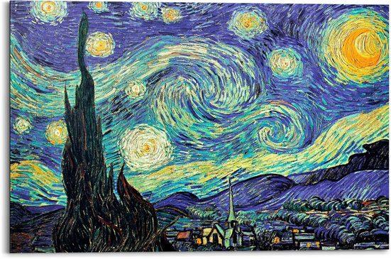 Reinders! Holzbild »Vincent van Gogh - Starry Night«, (1 Stück)