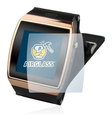 BROTECT Schutzfolie »Panzerglasfolie für Flylinktech New L15 Hi Watch«, Schutzglas Glasfolie klar