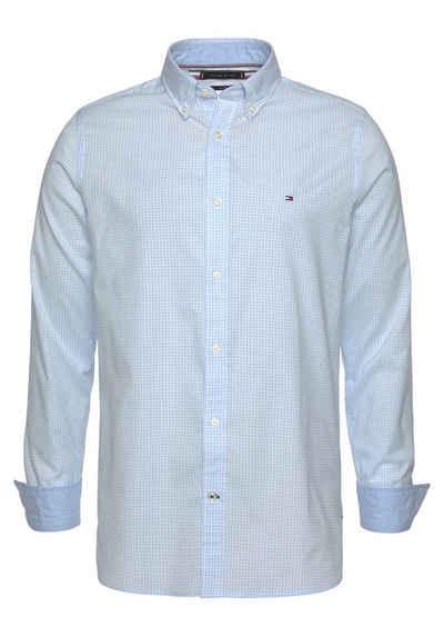 Tommy Hilfiger Langarmhemd »SLIM NATURAL SOFT GINGHAM SHIRT«