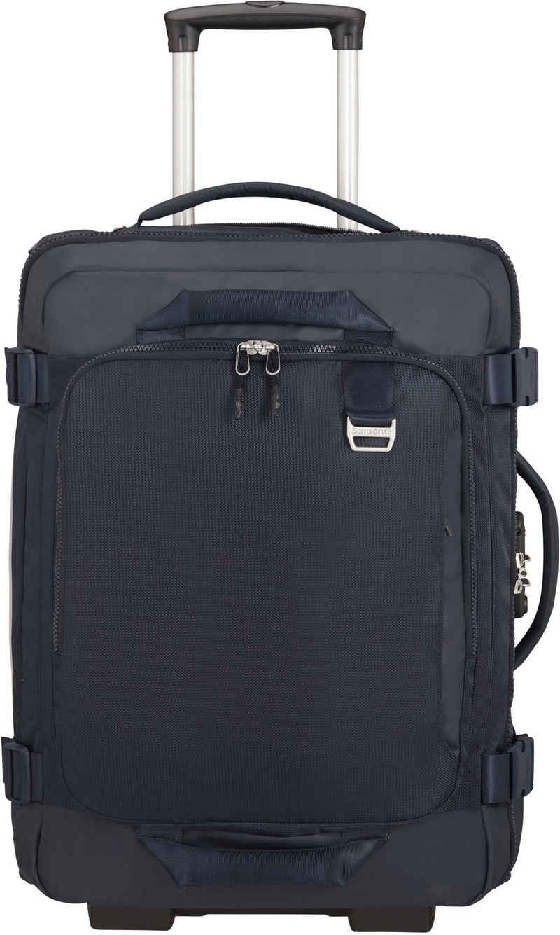 Samsonite Reisetasche »Midtown 55, dark blue«, mit Rucksackfunktion
