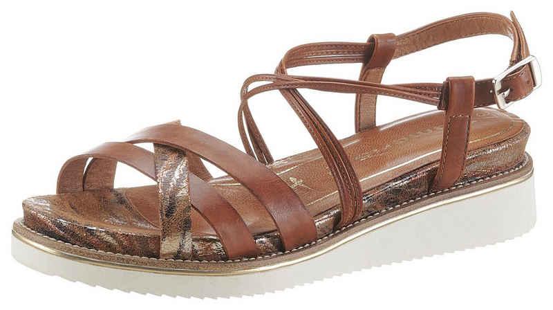 Tamaris »Eda« Sandale mit feinen Riemchen