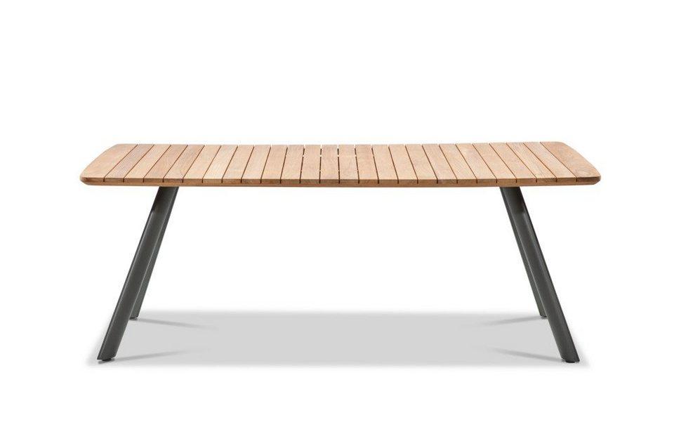 Musterring Gartentisch Tisch Schweden 200x95 76 Cm Schwarz Online Kaufen Otto