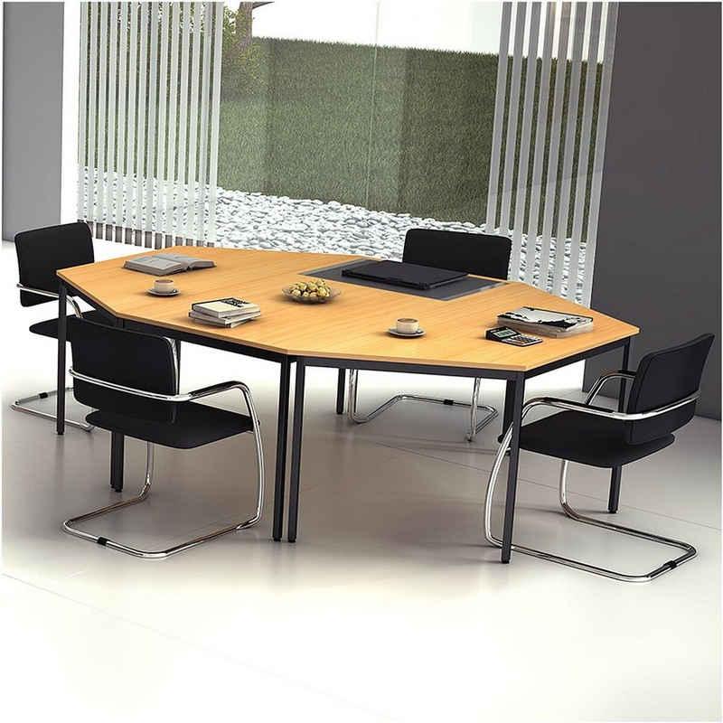 HAMMERBACHER Konferenztisch »Melbourne«, Set mit 3 Tischen