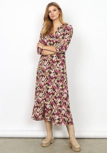 soyaconcept Blusenkleid mit floralem All-Over-Print