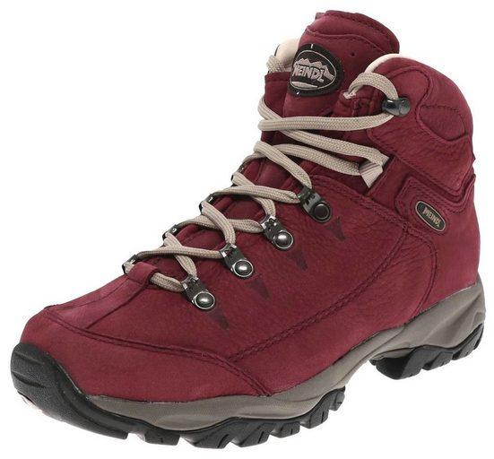 Meindl »Meindl Damen Wanderschuhe Ohio Lady 2 Leder Hikingschuhe Rot« Outdoorschuh