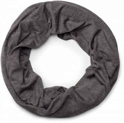 styleBREAKER Loop »Unifarbener Jersey Loop Schal« Unifarbener Jersey Loop Schal