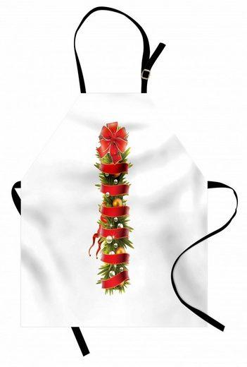 Abakuhaus Kochschürze »Höhenverstellbar Klare Farben ohne verblassen«, Weihnachtsalphabet I Brief-Symbol
