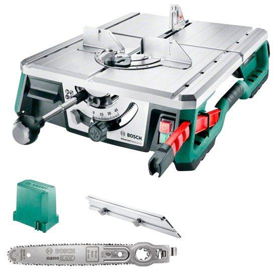 BOSCH Tischkreissäge »AdvancedTableCut 52«  Schnitttiefe 52 mm  NanoBlade-Sägeblatt   Baumarkt > Werkzeug > Sägen   Bosch
