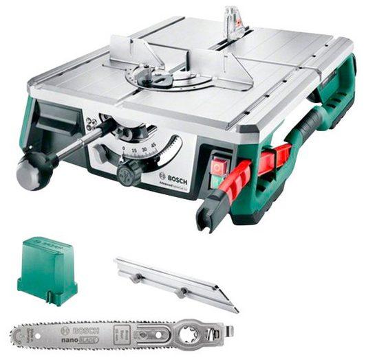 BOSCH Tischkreissäge »AdvancedTableCut 52«, Schnitttiefe 52 mm, NanoBlade-Sägeblatt