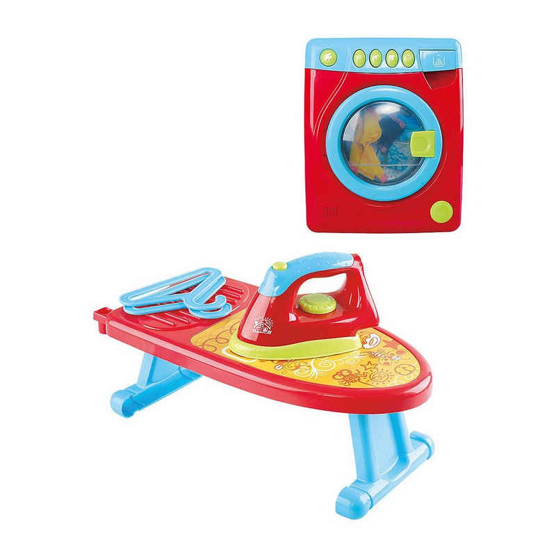 Playgo Kinder-Putzwagen »WASH AND IRON SET B/O«