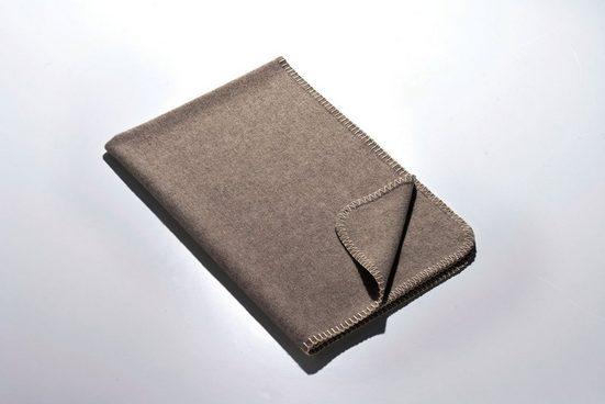Babydecke »Die Kleine – Merino-Decke 70 cm x 100 cm (270 g)«, Kaipara - Merino Sportswear, Kuschelig weiche Woll-Decke aus reiner Merinowolle - ungefärbt, unbehandelt und mulesing-frei - Made in Germany