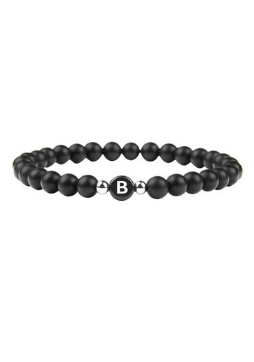 GOOD.designs Armband »Buchstabenperlen B«