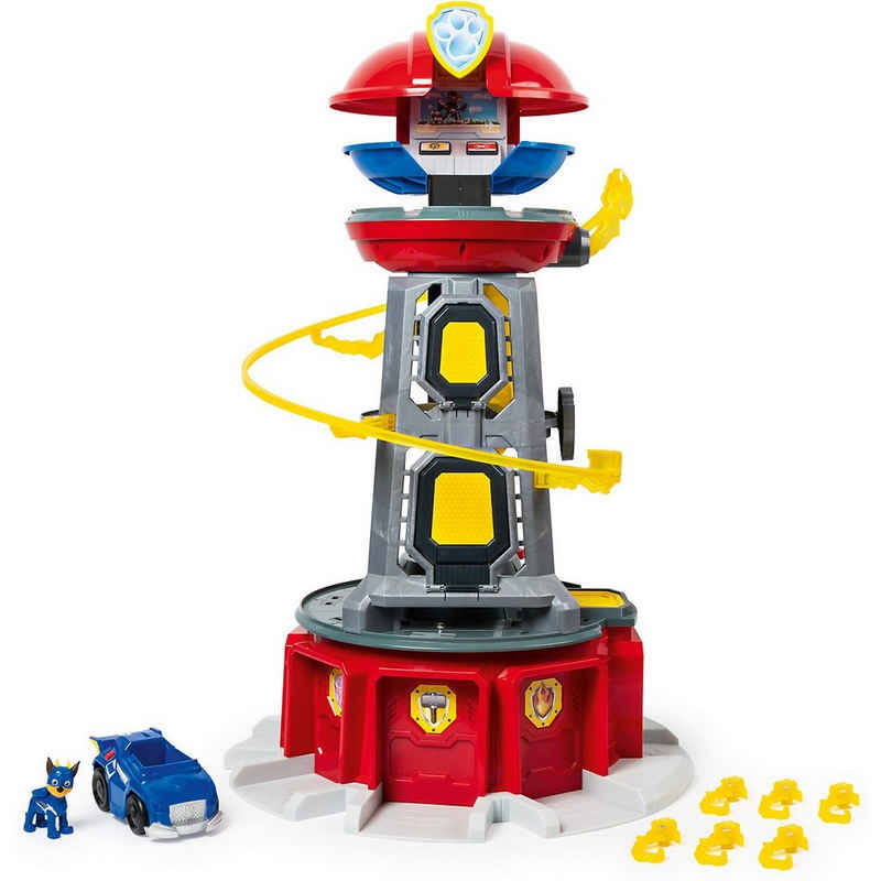 Spin Master Actionfigur »PAW Patrol Mighty Pups Lifesize Lookout Tower«