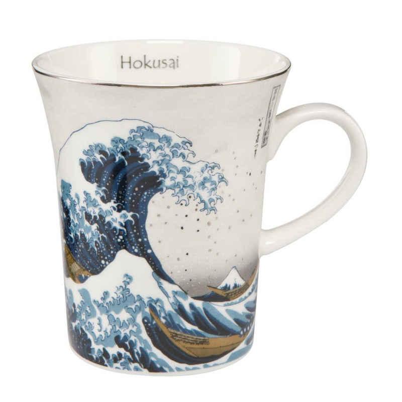 Goebel Tasse »Die Welle Hokusai Silber«, Fine China-Porzellan