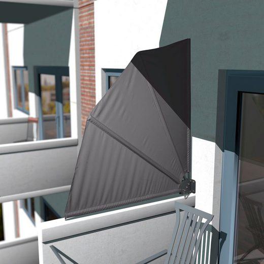 KONIFERA Sichtschutzfächer »Balkonfächer/ Markise für Balkon« BxH: 140x140 cm, klappbar
