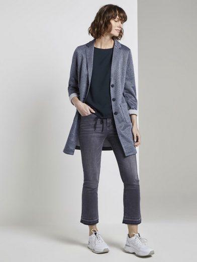 TOM TAILOR Klassische Bluse  Bluse mit elastischem Bund