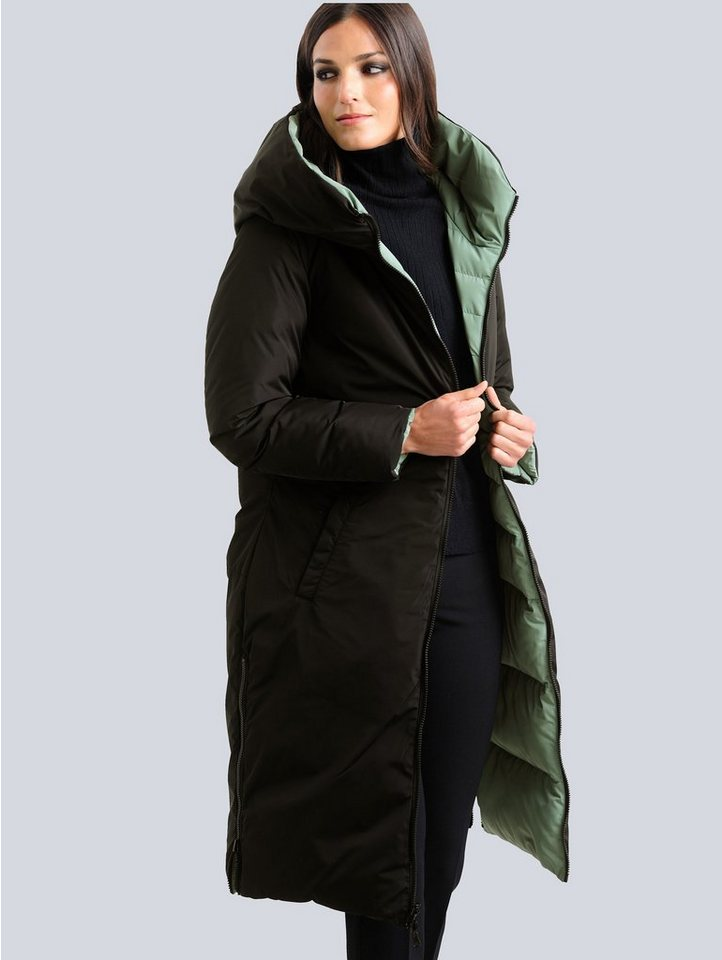 alba moda -  Steppmantel mit Wendefunktion, von beiden Seiten tragbar