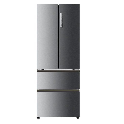 Haier Kühlschrank HB16FMAAA A++, 190 cm hoch, 70 cm breit, Edelstahl LED No Frost